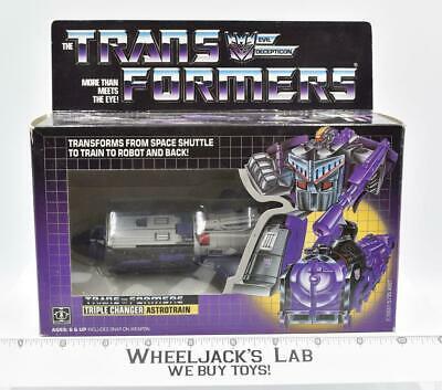 Hasbro 1985 Transformers Astrotrain MIB