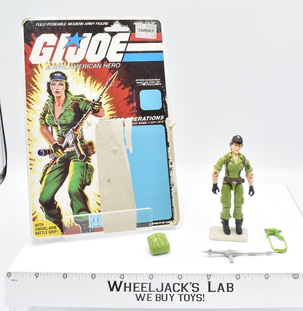 Hasbro 1985 G.I. Joe Lady Jaye