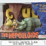 Toynami 2003 The Herculoids Dorno, Gleep, and Tundro