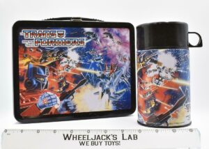 Transformers Metal lunch box and thermos