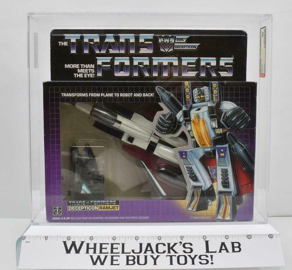 Hasbro 1984 Transformers Ramjet