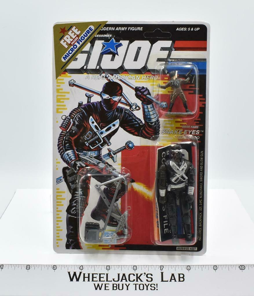 Hasbro 1989 G.I. Joe Snake Eyes