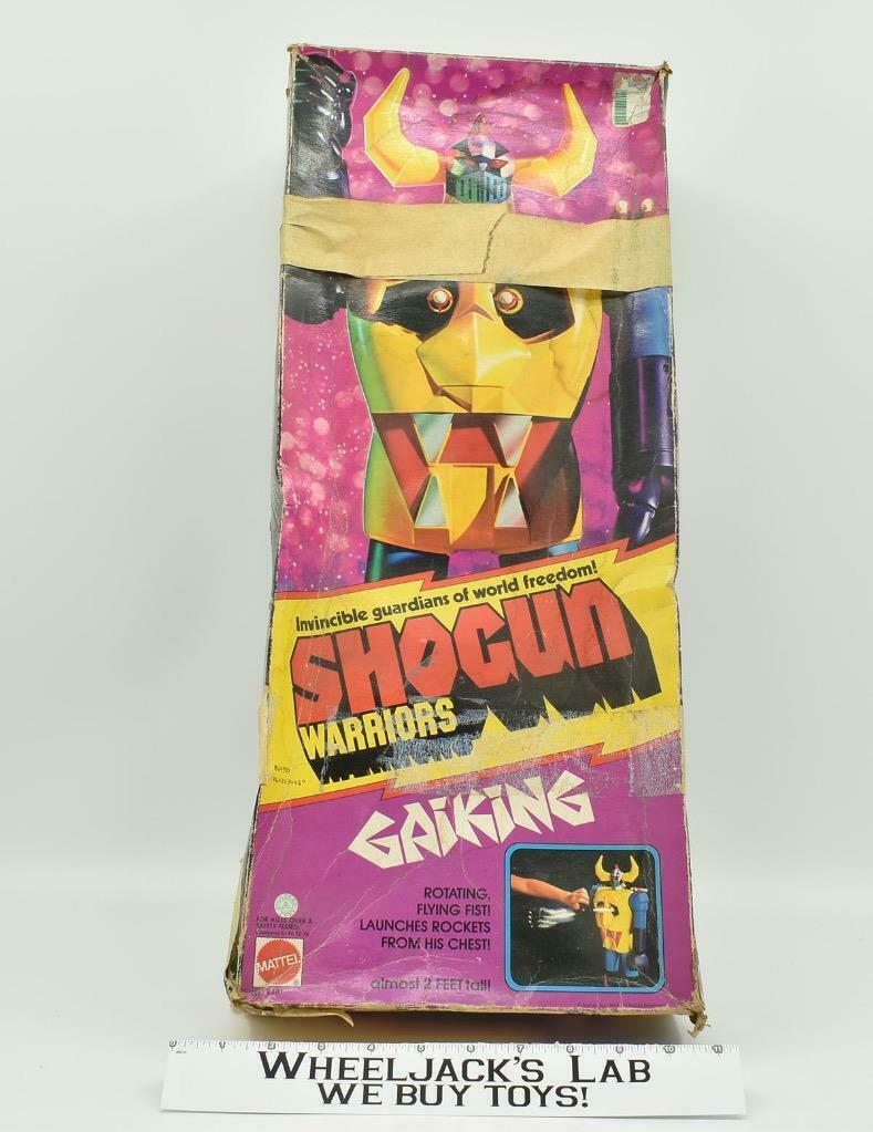 Mattel 1979 Shogun Warriors Gaiking Jumbo