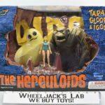 Toynami 2003 The Herculoids Tara, Gloop, and Igoo
